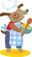 Join Horace, measure, mix, pour and bake something yummy.