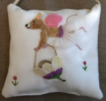Tooth Fairy Mouse pillow